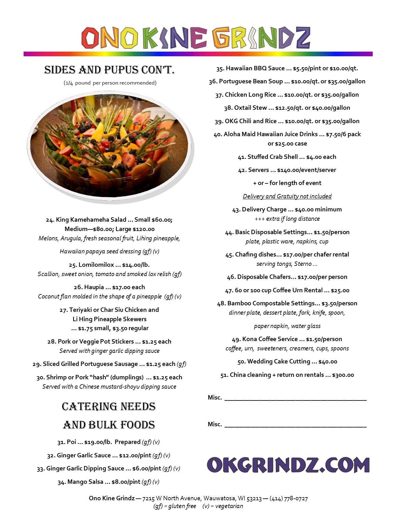 Catering Menu 01.27.2020 pg 2
